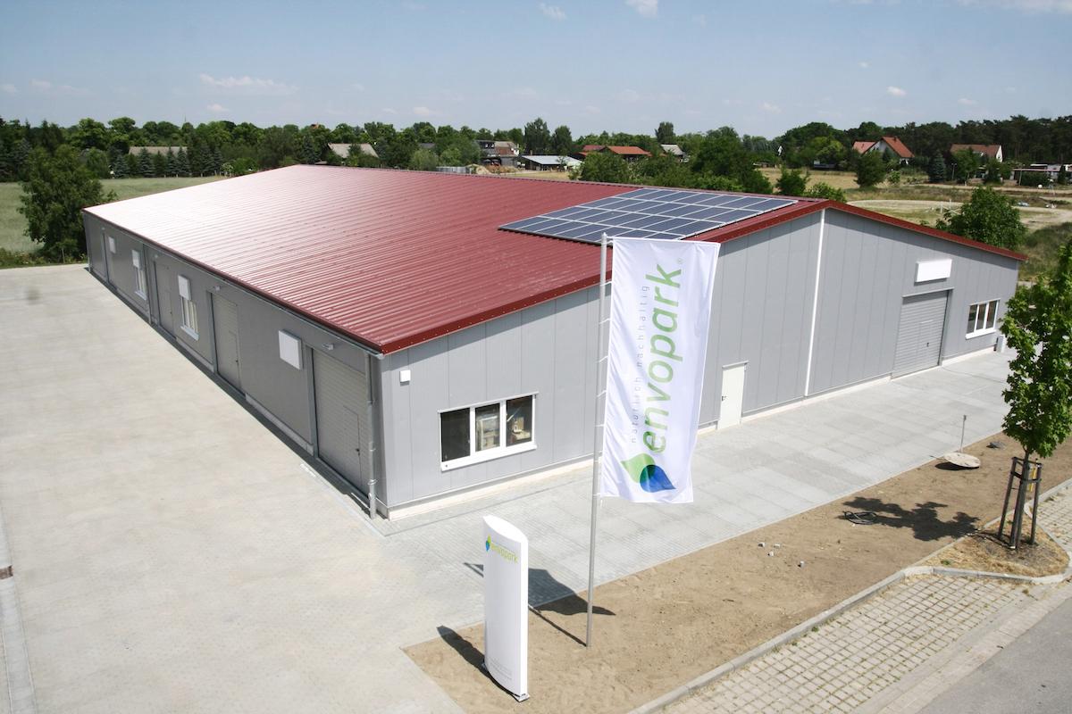 Gewerbepark envopark bietet Standort mit großer Energiekosteneinsparung