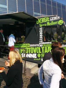 Mittagessen SolarFoodTruck