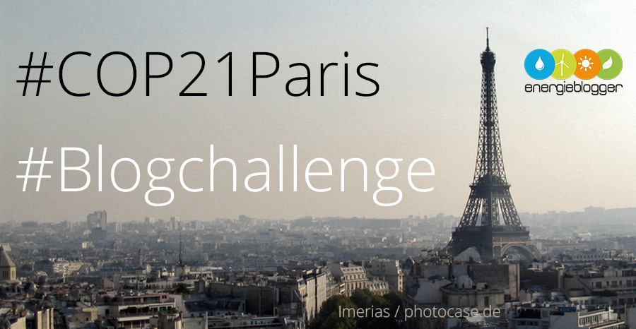 #COP21Paris Blogchallenge