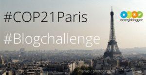 #COP21Paris Blogchallenge
