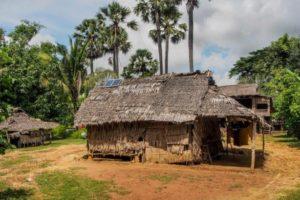 Solardorf in Kambodscha