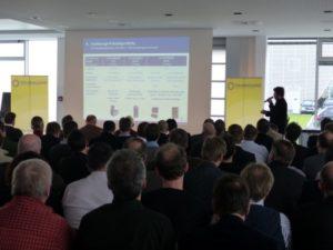 Präsentation beim StorageDay, Foto: Andreas Kühl