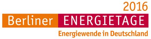 Erster Blick in das interessante Programm der Berliner Energietage 2016