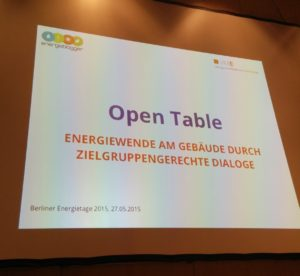 Open Table 2015