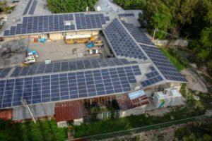 Qinous Batteriespeicher auf Haiti