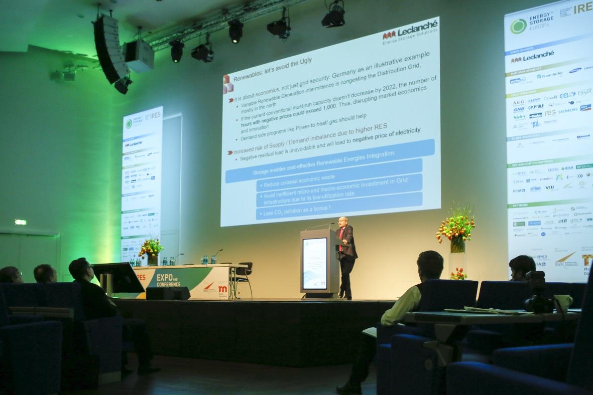 Energiespeicher Konferenzen Düsseldorf