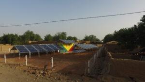 Solarcontainer Mali