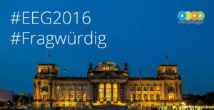EEG 2016: Abstand zum PV-Ausbaukorridor wird größer und nichts ändert sich