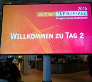Rückblick Berliner Energietage 2016