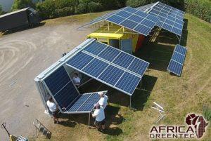 Solarcontainer klappbar