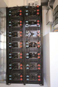 Batteriespeicher in der Strombank