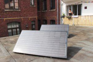 Solarheld-Module auf dem Dach