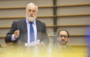 Sitzung des EU-Parlaments in Brussels - Week 25 2016 - Energy mit EU-Energiekommissar Canete, Foto: EU-Parlament
