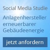 Social-Media Studie über Anlagenhersteller erneuerbarer Gebäudeenergie