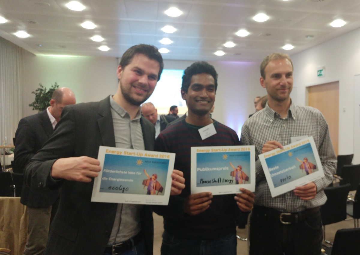 gewinner energy startup networking
