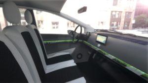 Innenraum des Sion Solarauto, Foto: Sono Motors
