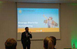 Beginn des Energy Startup Networking