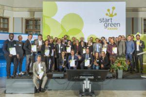 Gründer aus der Energiebranche bei den StartGreen Awards 2016