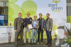 Caala, Gewinner des StartGreen Award 2016 Kategorie Gründungskonzept, Foto: Rolf Schulten