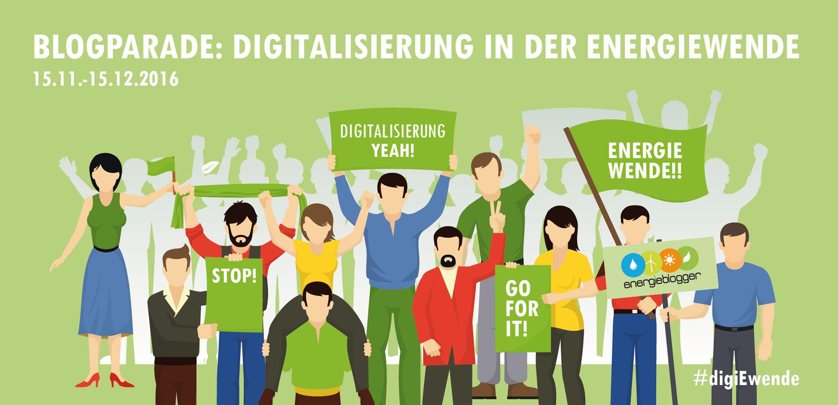 """Blogparade """"Digitalisierung in der Energiewende"""""""