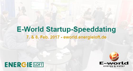 Energie-Startups E-world