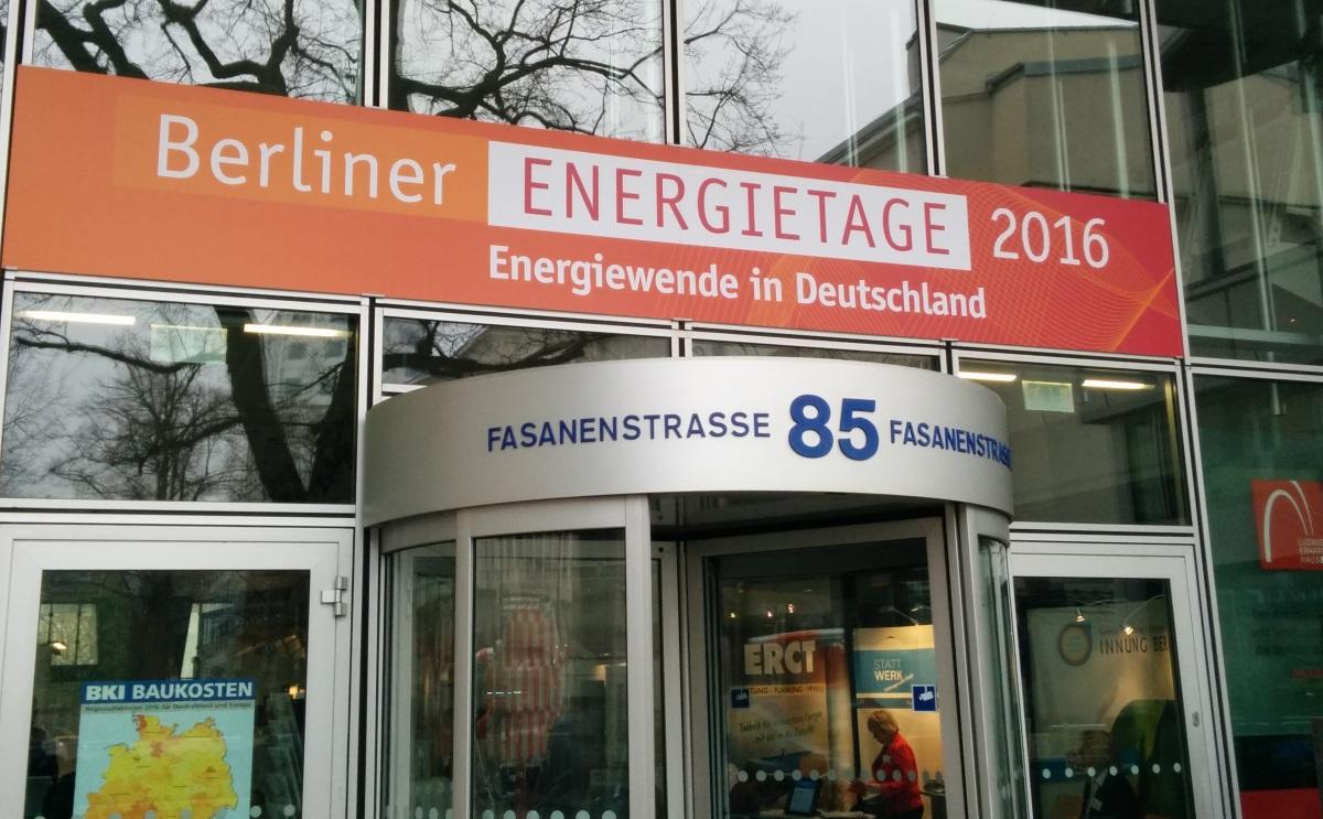 Programm Berliner Energietage 2017