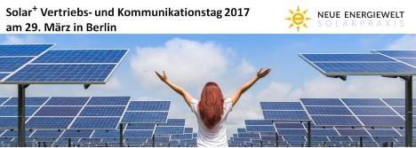 Solar Vertriebs- und Kommunikationstag 2017