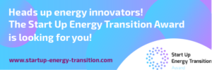 Start Up Energy Transition Award – die Finalisten in der Übersicht