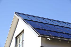 Solardach Solarthermie Mehrfamilienhaus