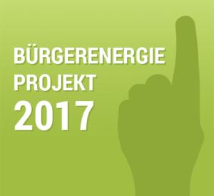 Bürgerenergie-Projekt des Jahres 2017