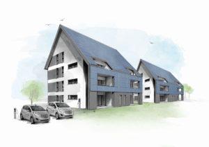 Die Technik der energieautarken Mehrfamilienhäuser in Cottbus