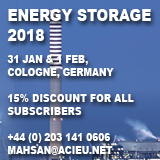 energy storage conference 2018