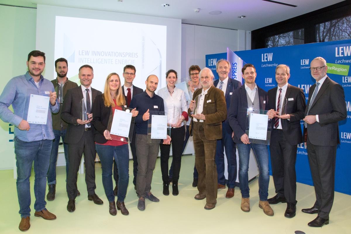 LEW Innovationspreis intelligente Energie 2018 Preisträger