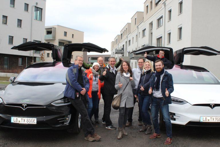Erlebnis Elektromobilität und zukunftsfähiges Stadtquartier Franklin auf der Smart-Grids BW Bloggertour 2018