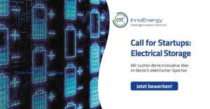 InnoEnergy sucht innovative Startups für elektrische Energiespeicher