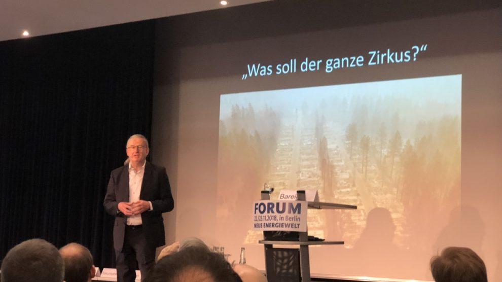 Eröffnung 19. Forum Neue Energiewelt