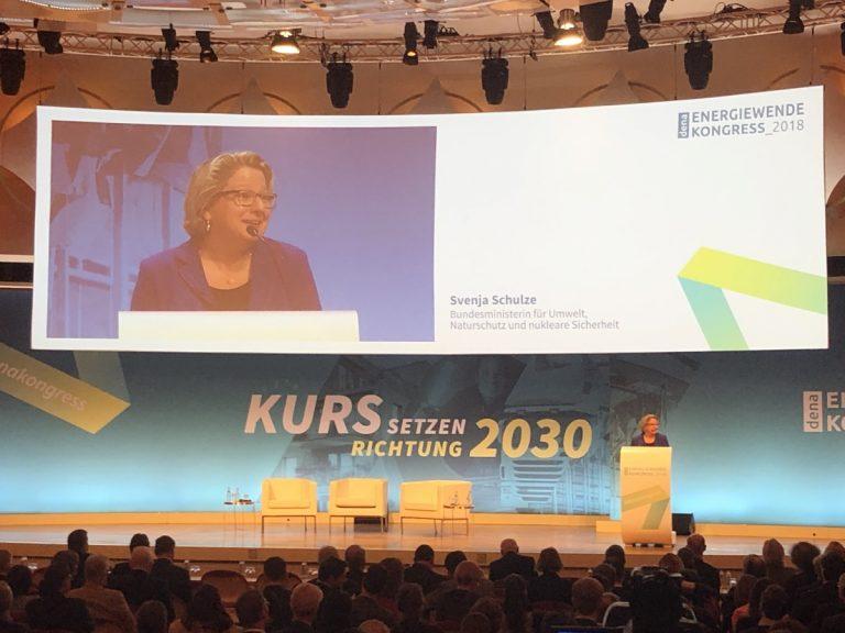 Ist die Energie- und Klimapolitik auf Kurs für 2030? Fazit vom dena Energiewende-Kongress 2018