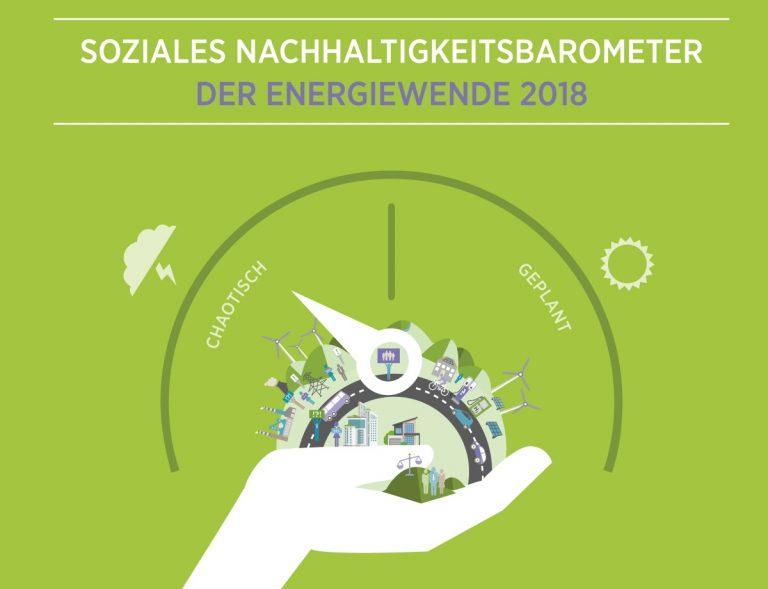 Soziales Nachhaltigkeitsbarometer: 13 Aussagen der Bevölkerung zur Umsetzung der Energiewende