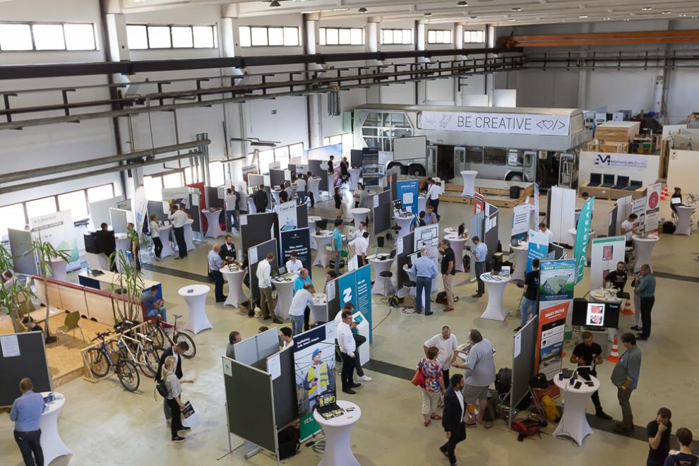 Startups der Baubranche auf der Tech in Construction