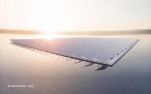 Schwimmende Photovoltaikanlagen: neue Flächen für Solarenergie