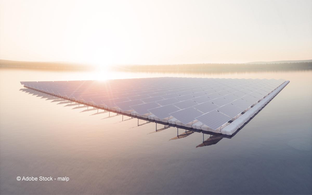 Schwimmende Photovoltaikanlagen - neue Flächen für die Energiewende