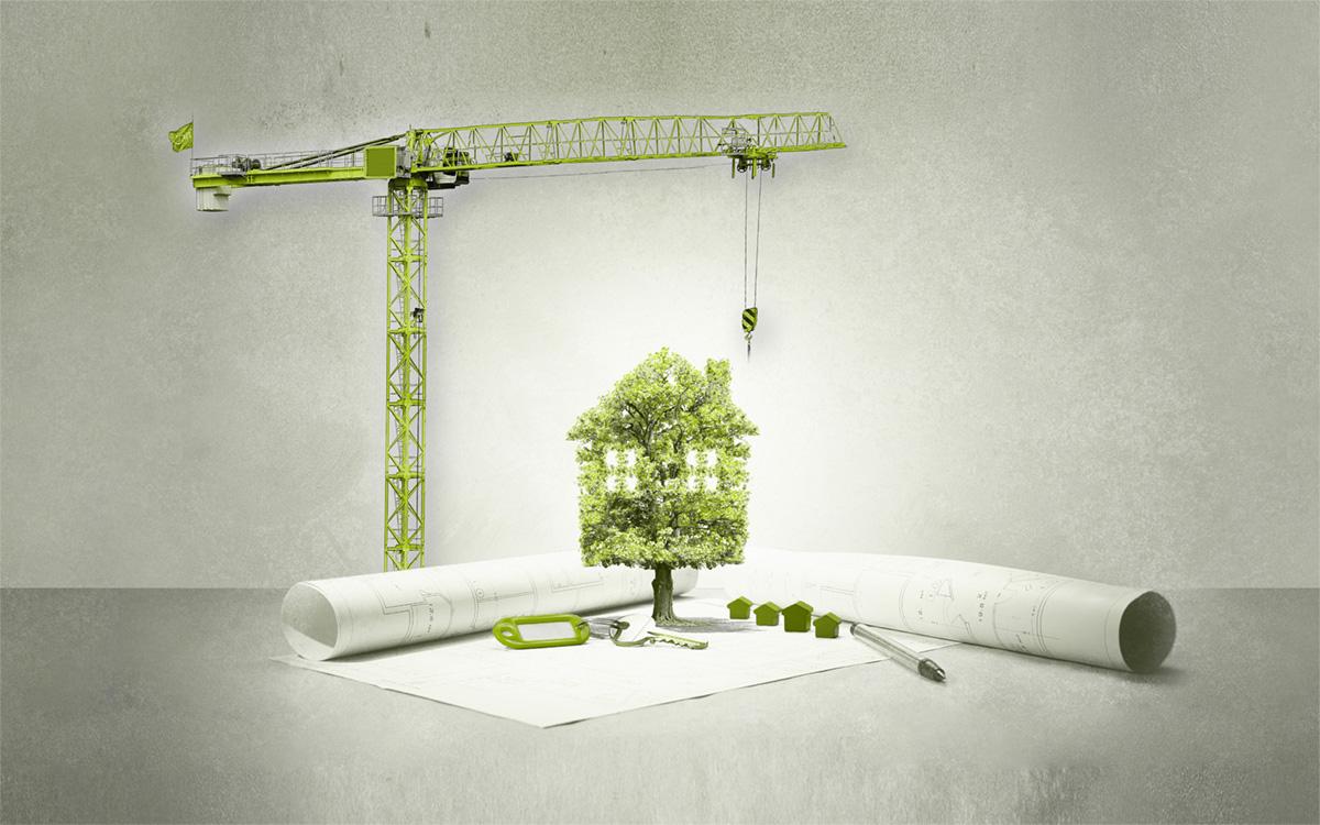 Nachhaltiges Bauen - Eine Aufgabe für innovative Köpfe