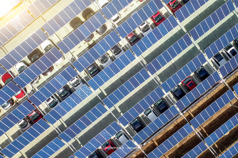 Photovoltaik Parkplatz