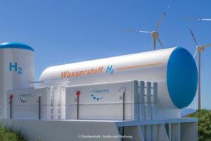 Wasserstoff und Windenergie – zusammen für das Klima